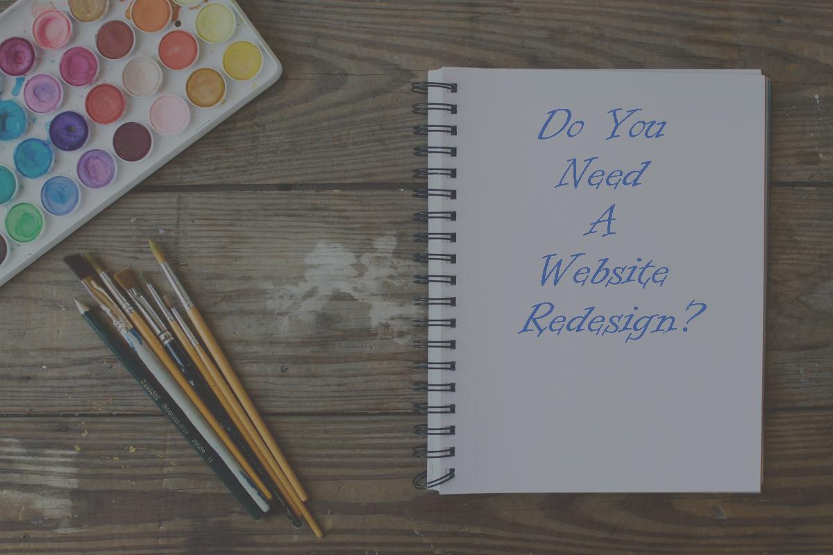 Do You Need A Website Redesign